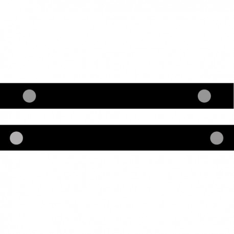 Retro-Reflective Tape .39 Dot Diameter