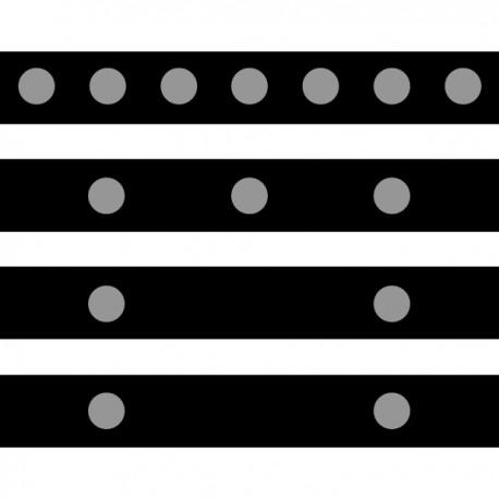 Retro-Reflective Tape .5 Dot Diameter