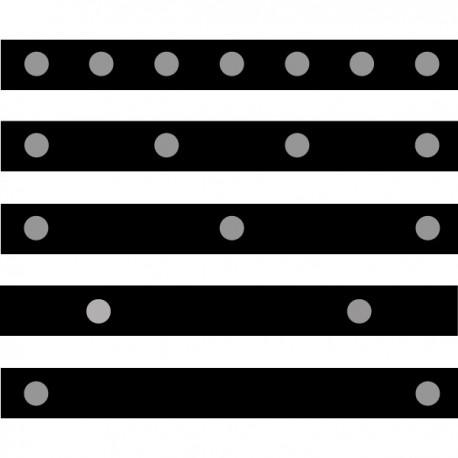 Retro-Reflective Tape .37 Dot Diameter
